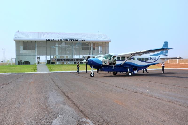 Lucas do Rio Verde passa a ter voos para Cuiabá a partir de julho