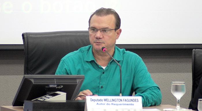 Resultado de imagem para senador Wellington Fagundes