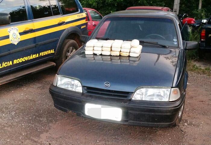 19 quilos de cocaína apreendidos pela PRF em Poconé (ass)