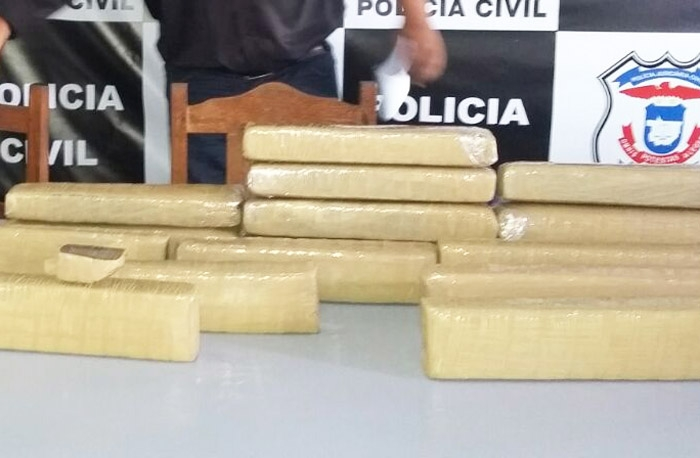 16 quilos de maconha apreendidos em Sinop (SN/Zé)
