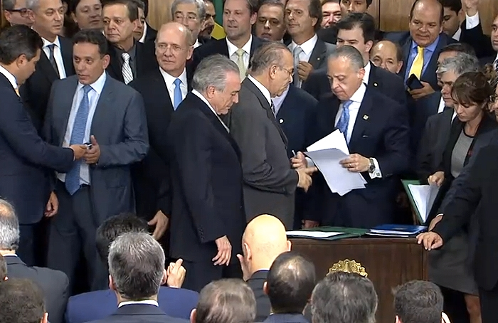Michel Temer posse ministros maio 2016 (rep)