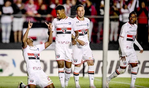 São Paulo x Toluca libertadores maio 2016 (Fernando Dantas/Gazeta Press)