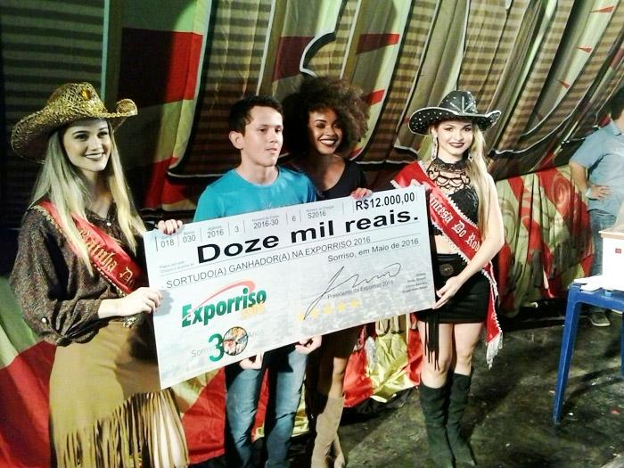 Vencedores prêmio Exporriso segunda noite (SN/Luiz)