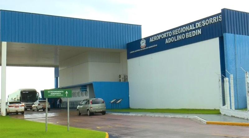 Cai mais de 30% número de embarques e desembarques no aeroporto em Sorriso