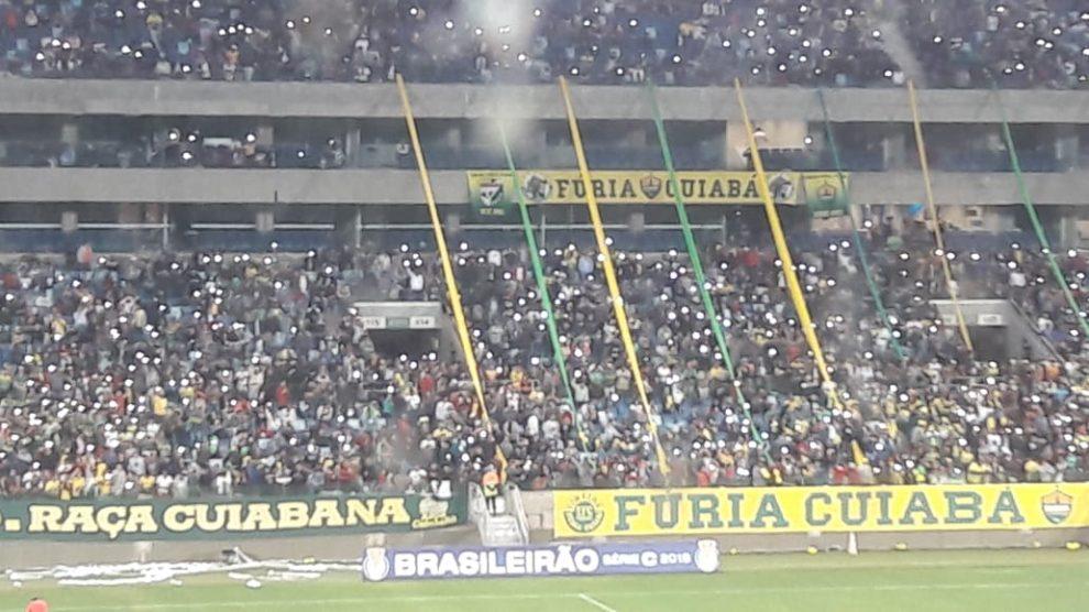 Resultado de imagem para Torcida compra mais de 15 mil ingressos para jogo do Cuiabá EC