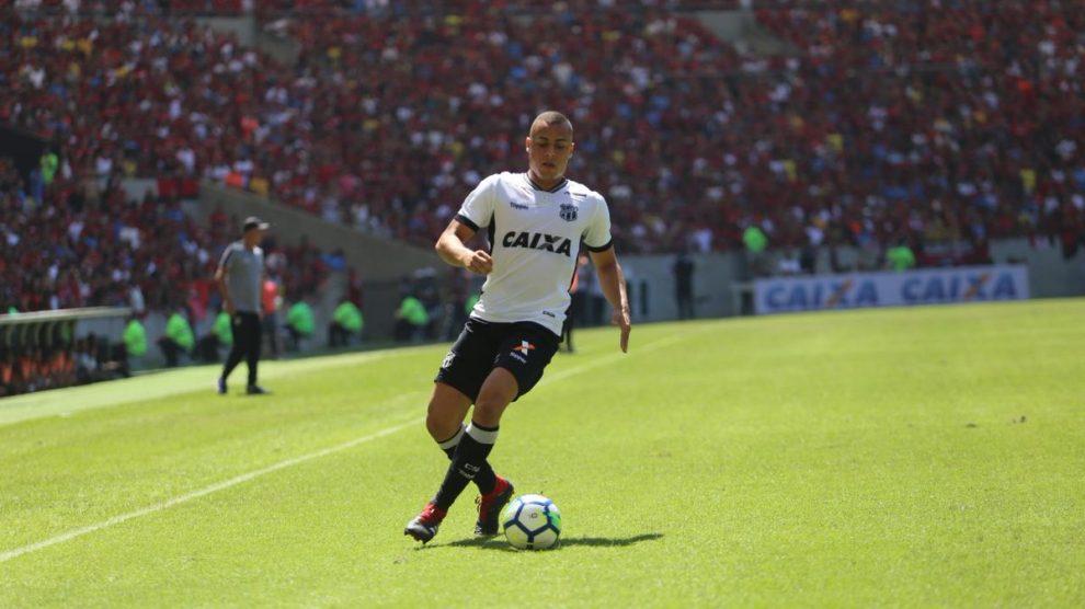 Ceará marca no fim e bate o Flamengo no Maracanã lotado – Só Notícias 7b976b9eb6d19