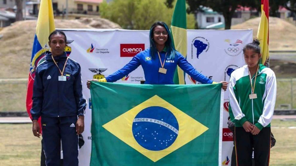 Integrando a equipe brasileira que participou do Campeonato Sul-americano  de Atletismo Sub 23 6d7ac5c1030fa