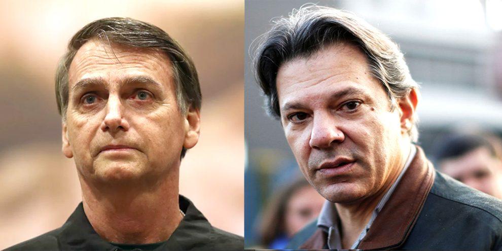 Resultado de imagem para Datafolha para presidente, votos válidos: Bolsonaro, 56%; Haddad, 44%