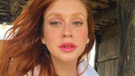 Marina Ruy Barbosa posta  selfie matinal  e famosas elogiam 4469d85729