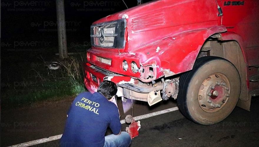 Acidente com carreta em Nova Mutum deixa um morto - Só Notícias