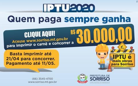 Prefeitura de Sorriso - IPTU 2020